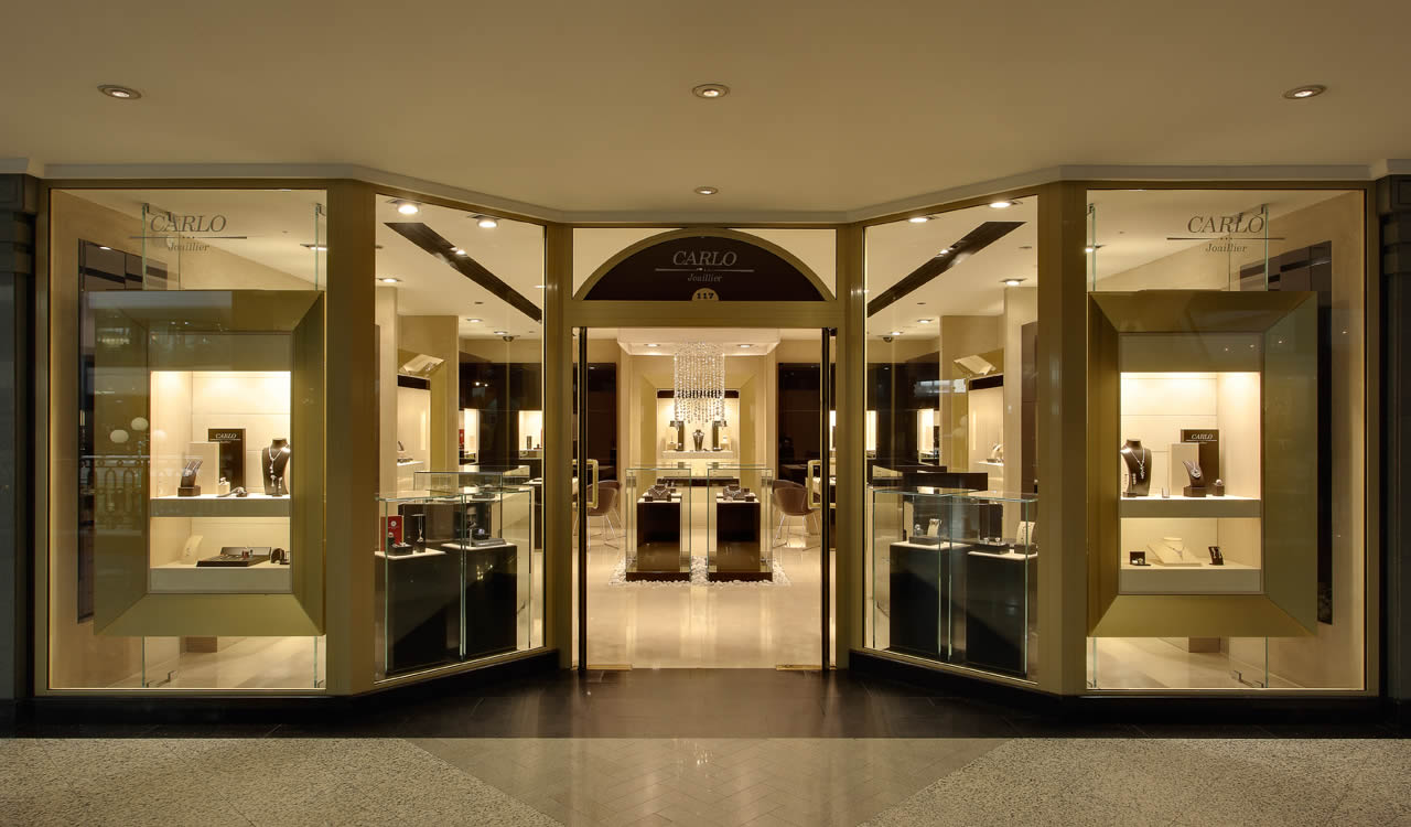 Carlo joaillier fine jewelry at the first mall cairo for Cairo outlet